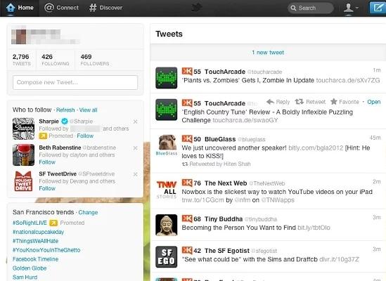 Extensi´no de Google Chrome para saber el Klout Score de un usuario de Twitter