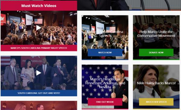 Marco Rubio candidato republicano