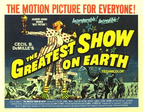 Película de Circo. El mayor espectáculo del mundo.