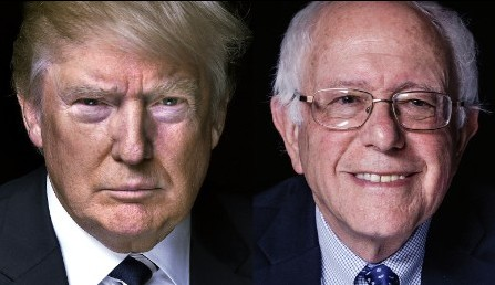 Trump y Sanders ganan en New Hampshire