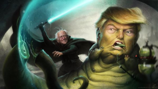 victorias de Trump y Sanders en New Hampshire