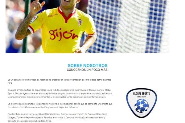globalsportssoccer.com agencia de futbolistas de Raúl Verdú