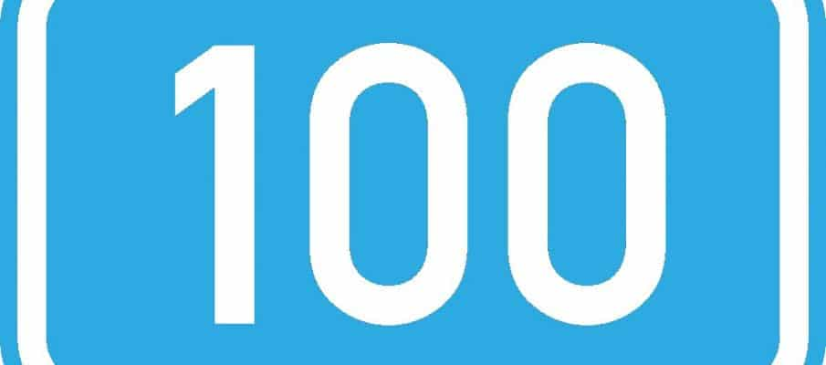 Top 100 en Twitter