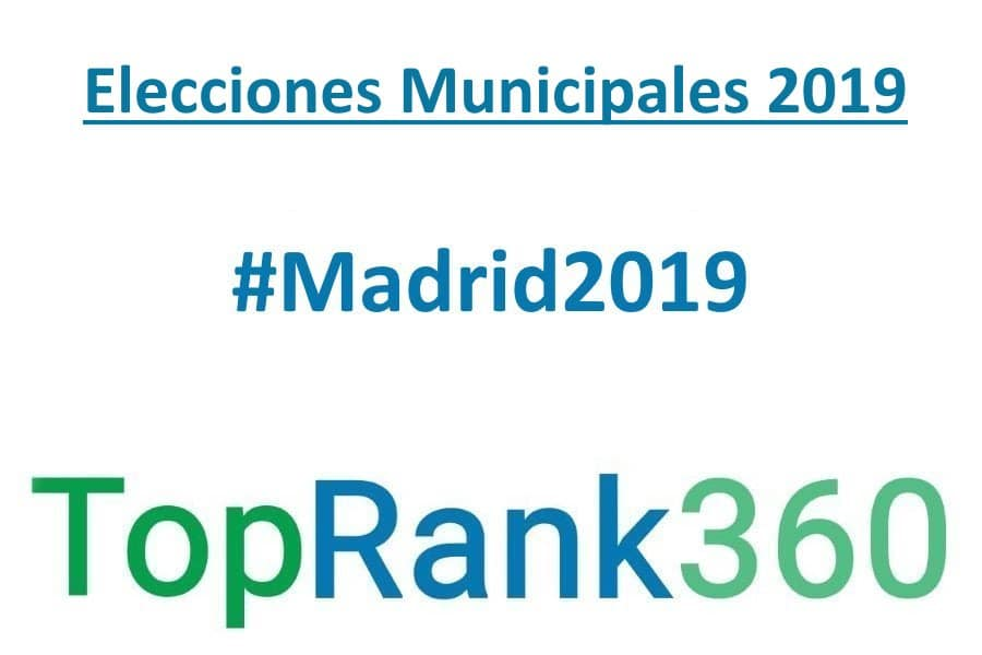 Elecciones Municipales 2019 Desafíos Cuentas Pendientes: Municipales 2019 En Madrid. Ranking De Candidatos En