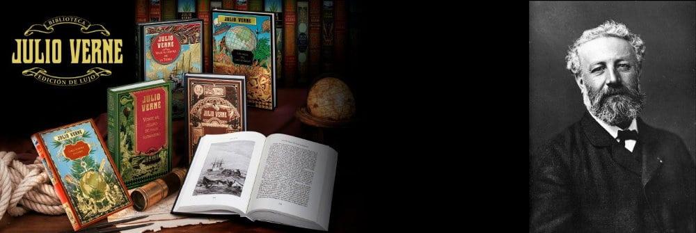 La colección de libros de Julio Verne ofrecida por RBA