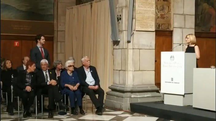 Medalla Josep Trueta al mérito sanitario para el Dr. Antonio de Lacy