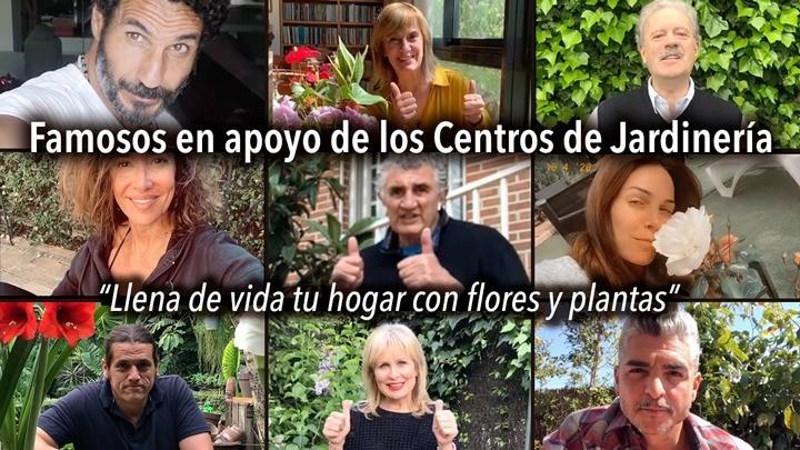Llena de vida tu hogar con flores y plantas. Los famosos con los Gardens