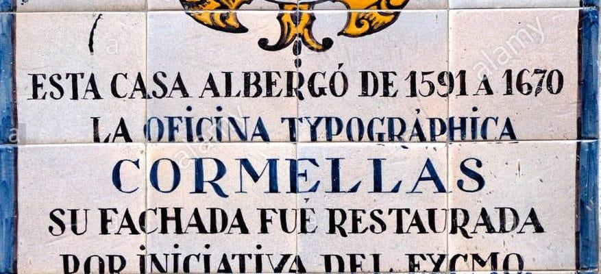 Los orígenes de las artes gráficas en Barcelona