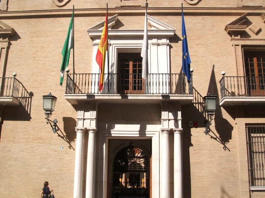 Ayuntamiento de Antequera. Fachada del ayuntamiento