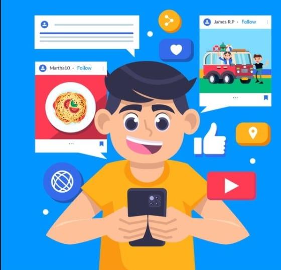 Compartir fotos en las Redes Sociales
