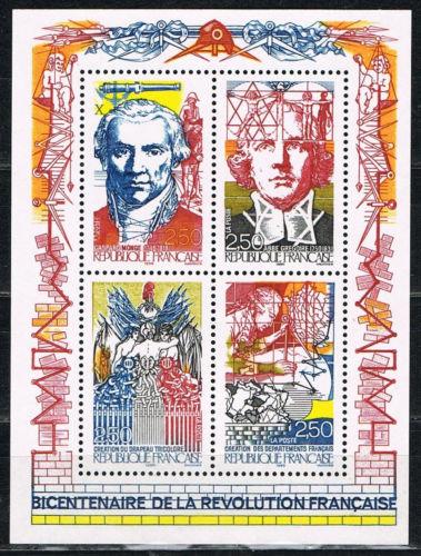 Sello del Bicentenario de la Revolución Francesa