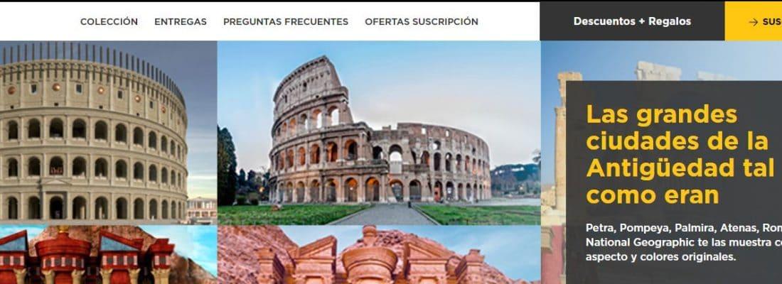 Arqueología en Internet. Imagen del coleccionable de National Geographic